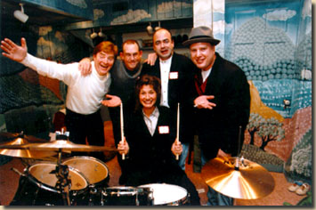 Amy Grant with Drummers